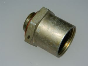 "5/8"" BSP Blanking Plug Fitting Steel Length 1/14"" [V5]"